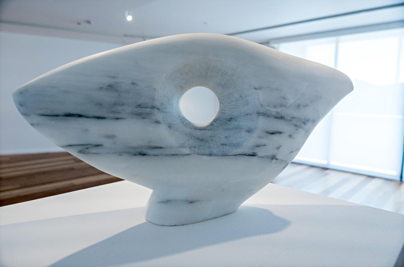Sculpture White Carrara Marble