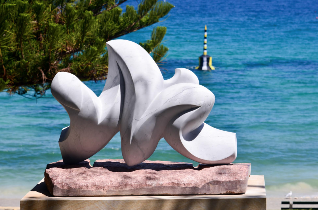 Sculpture by the Sea, fine art, italian marble, statuario marble, sculpture, marble sculpture, public art, sculpture, marble, hand carved