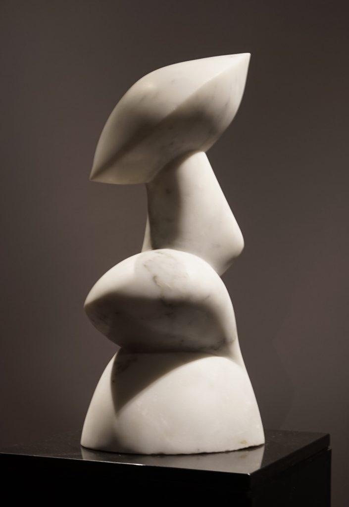 Sculpture, White Carrara Marble, Statuario marble, italian sculpture, contemporary art, art collector, art hong kong